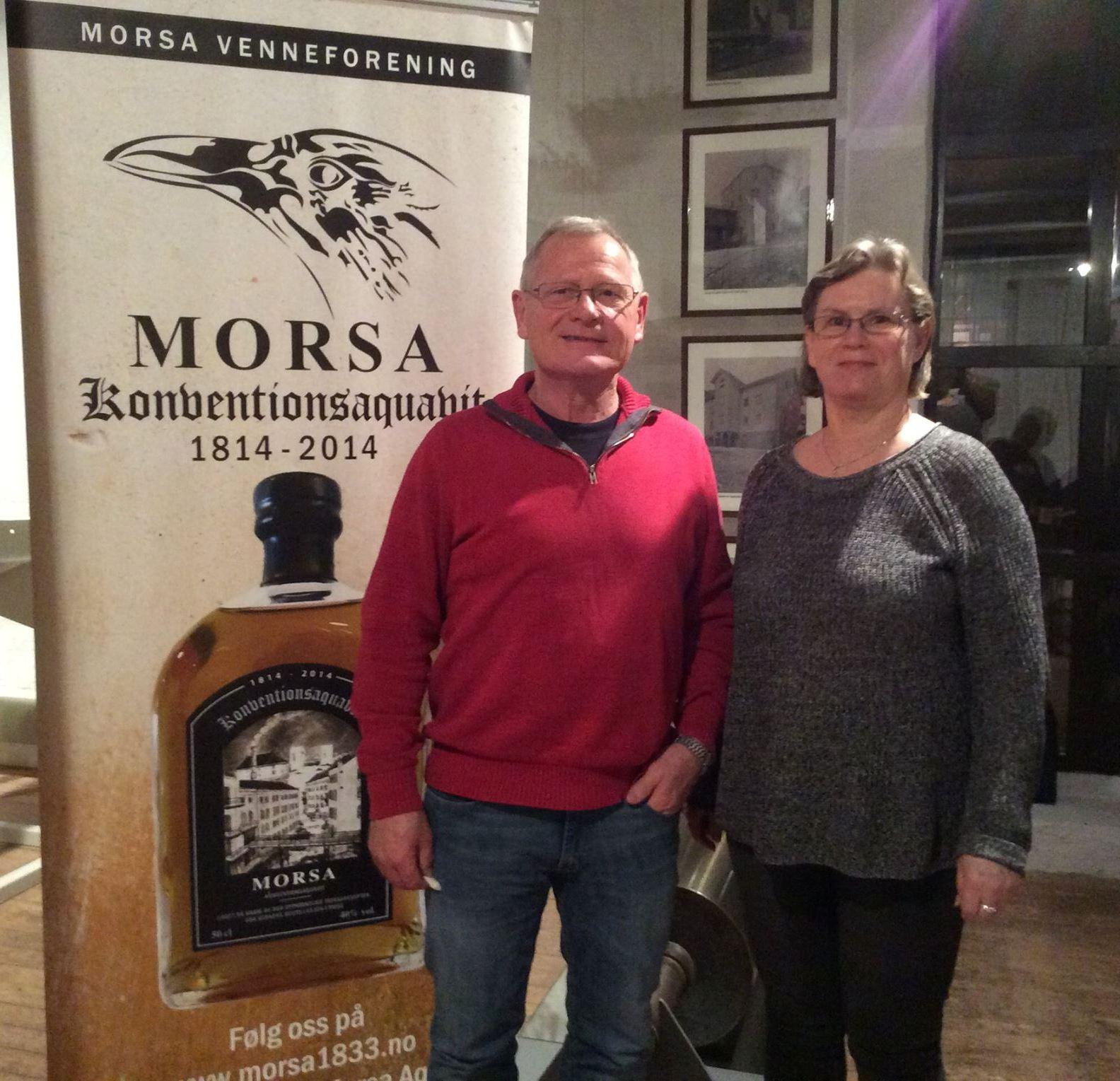 Nye i styret - Kristian Hjortkær Hansen og Lisbeth Børnich